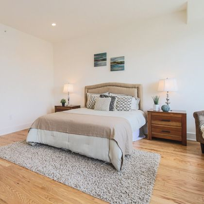 Brewerytown Square Home Bedroom