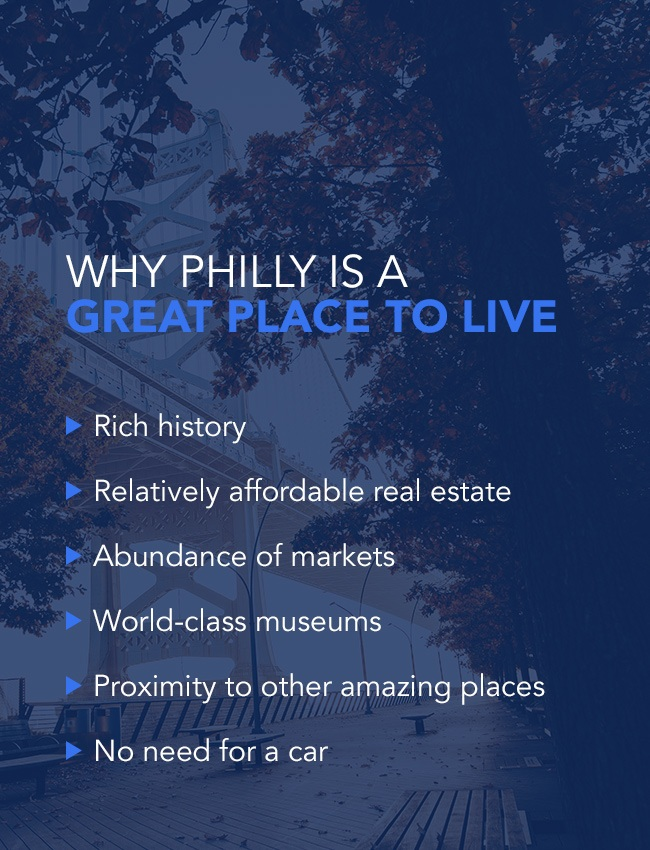 Why Philly is a great place to live