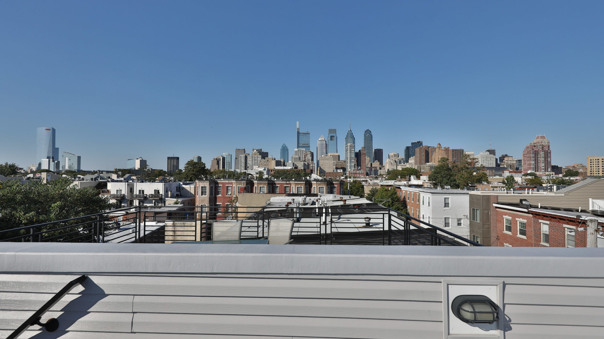 Roof Deck View Philly
